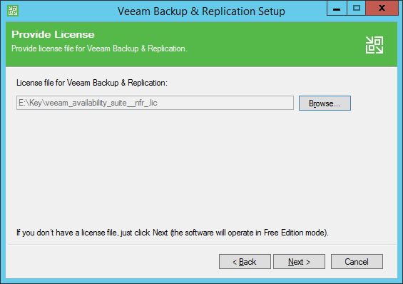 Install Veeam Backup & Replication 9 5 - Blog on Veeam and other