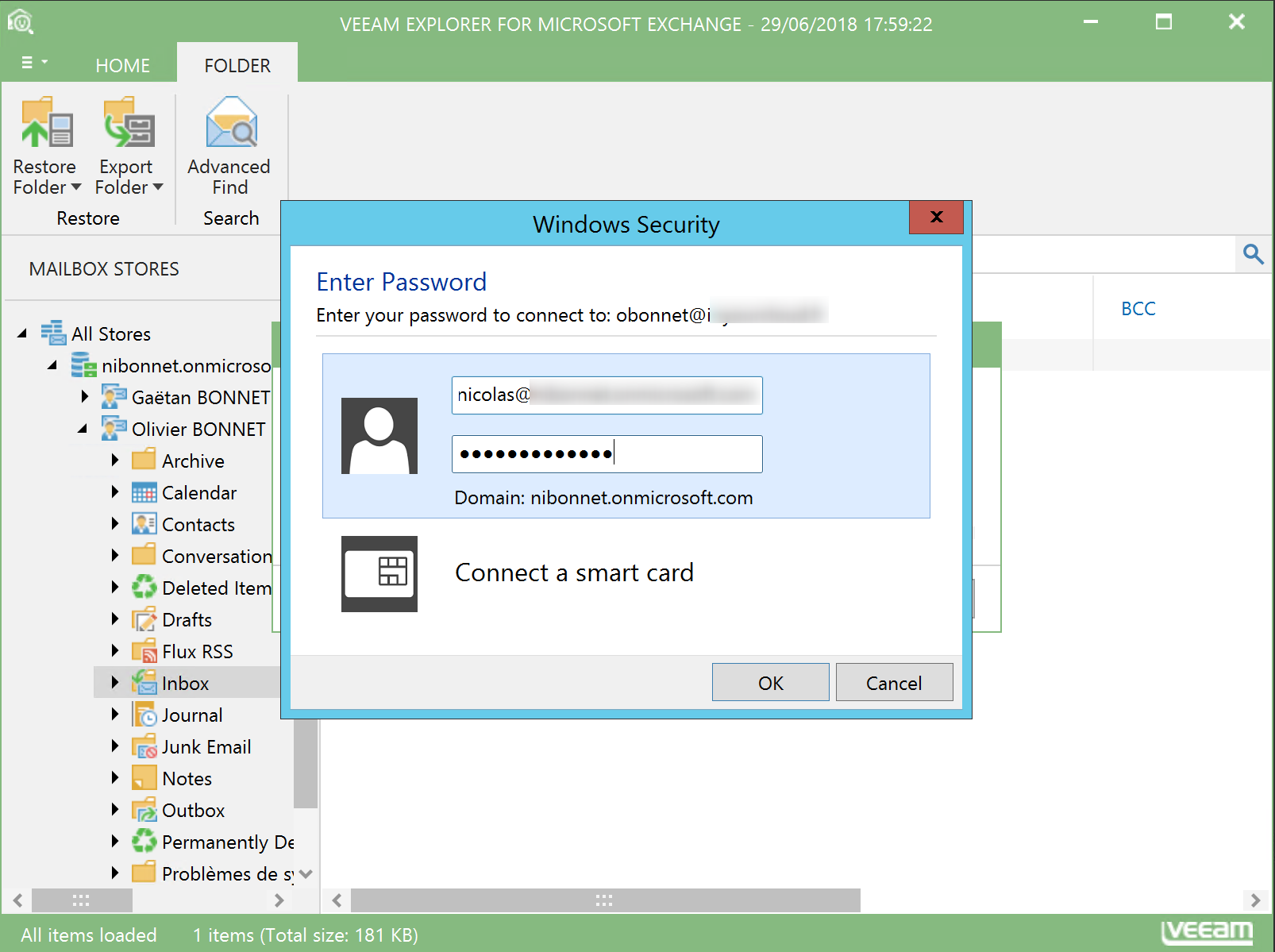 Enter the credential of your Office 365 Administrator