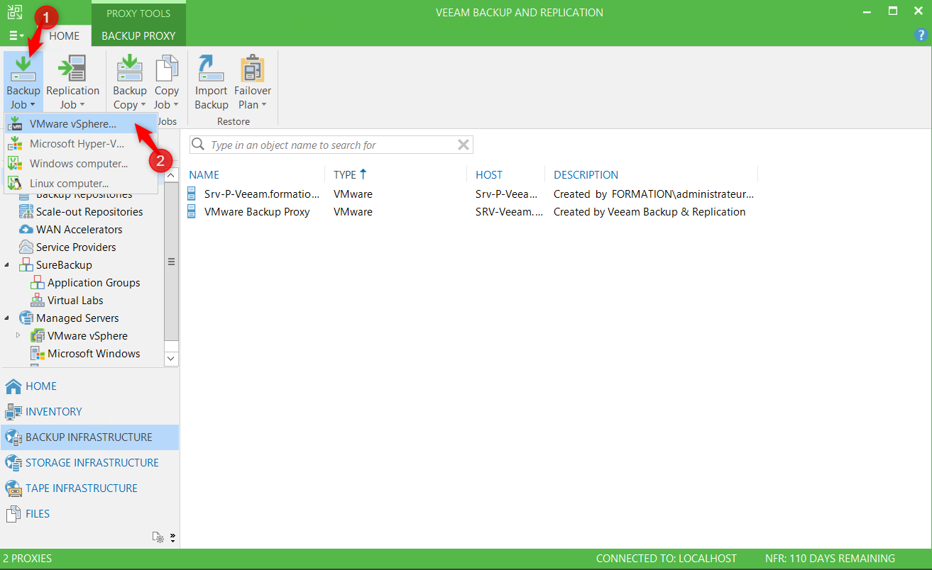 Backup VM with Veeam - Blog on Veeam and other Technologies