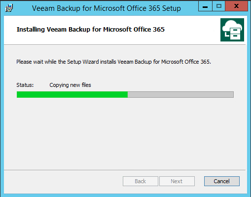 installation Veeam Office 365 Modern Authentification on VBO 3.0