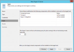 Configure Task limit and click on Apply