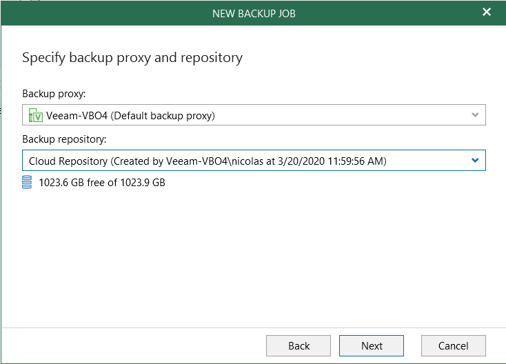 Backup Teams - Exclude object