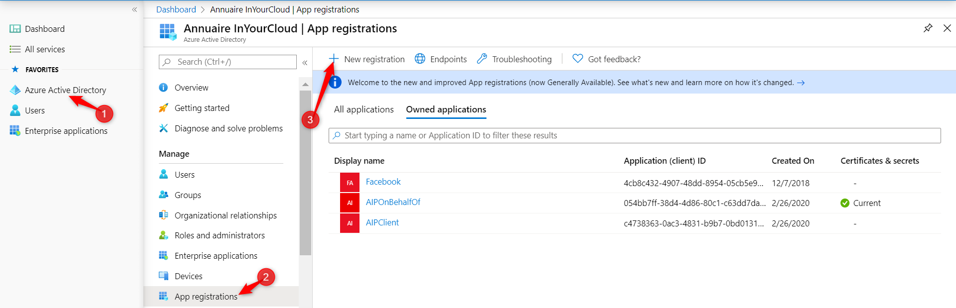 Create App Registration on Veeam